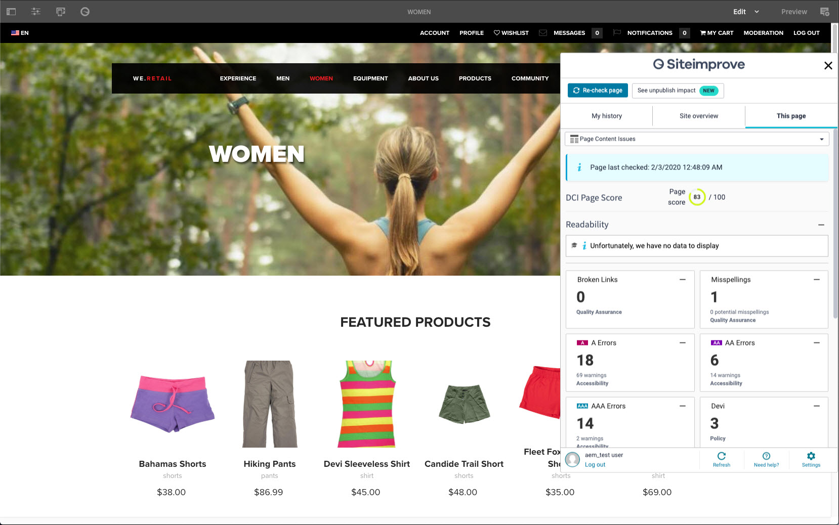 Siteimprove_CMS_plugin_for_Adobe_Experience_Manager