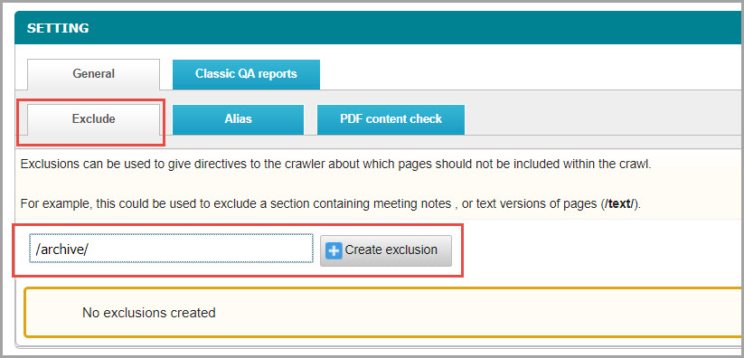 Adding_an_Exclusion_to_a_site