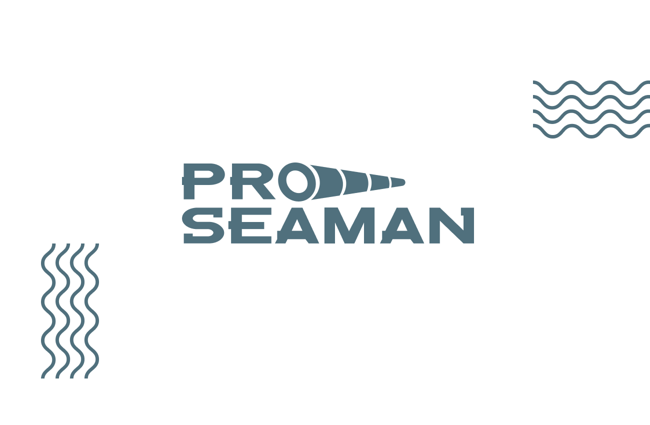 Proseaman logo and site design