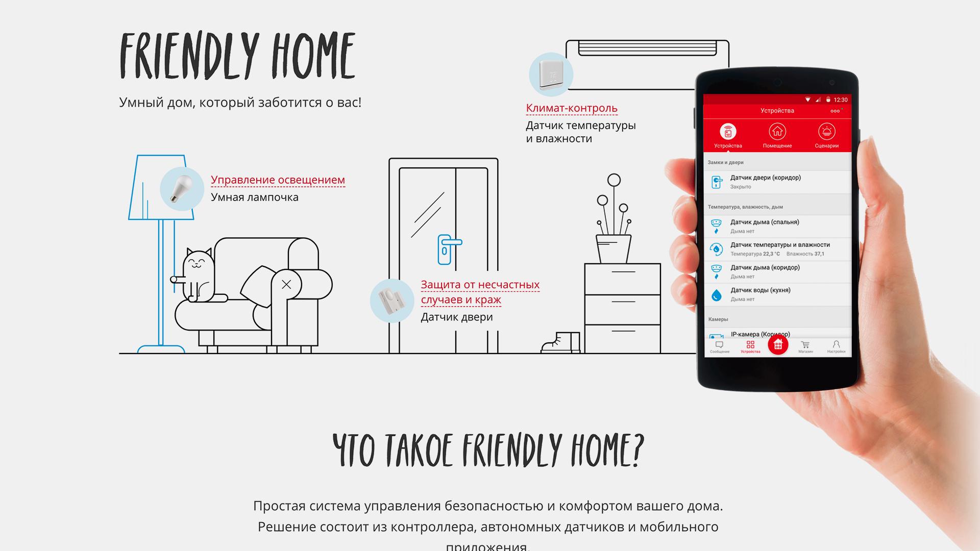 Huawei Friendly Home