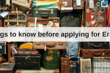 6 things to know before applying for Erasmus