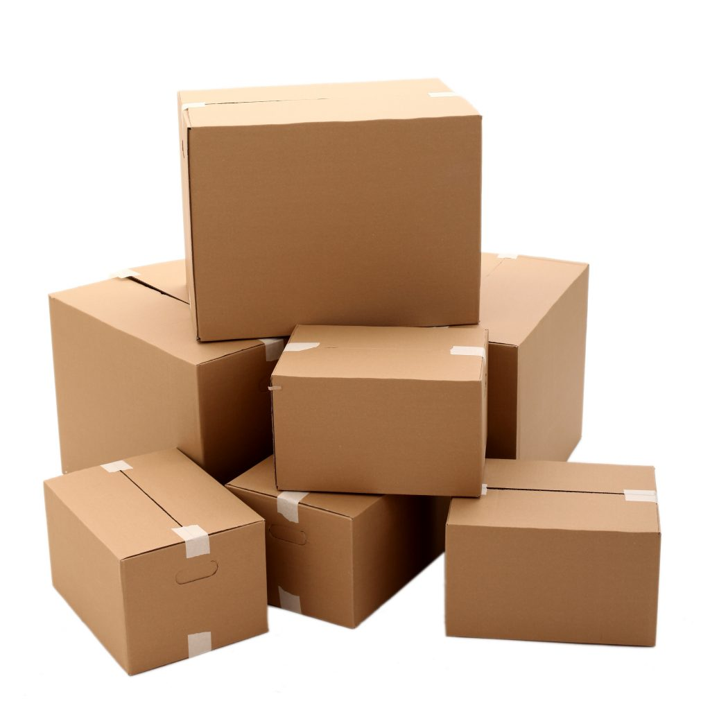 boxes of different dimensions