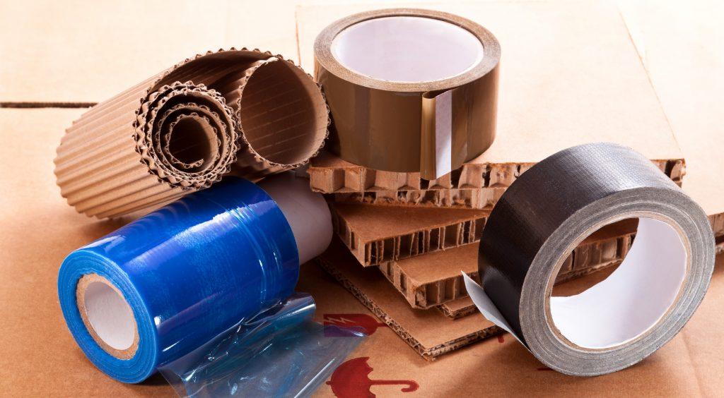 materiaux d'emballage pour un colis standard
