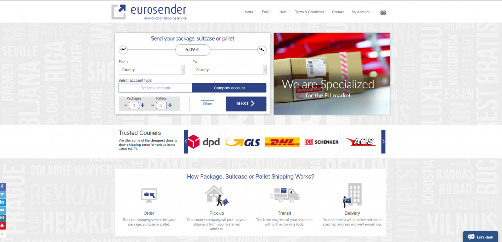 This is How we Look Now - Eurosender com - Blog