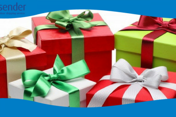 Courier services for shipping Christmas gifts 3