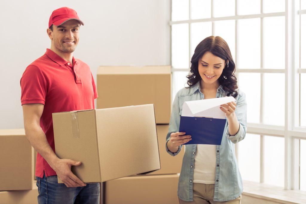 entrega de encomendas em areas residenciais