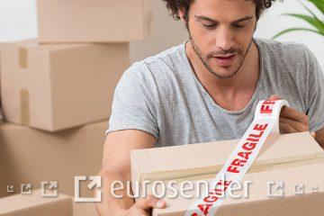 como embalar itens frageis para enviar pelo correio