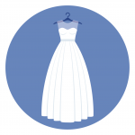 ship your wedding gown via courier
