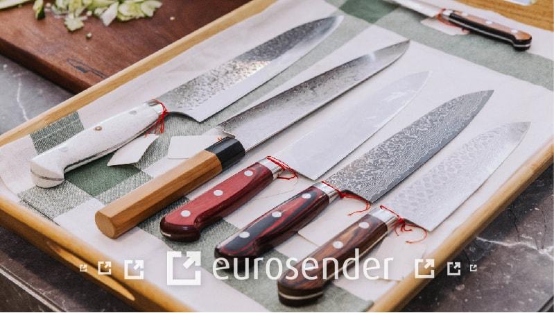 envio de cuchillos por paquetería