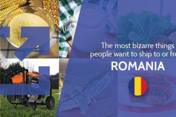 bizarre shipping to Romania
