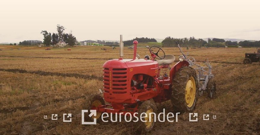 Ship a tractor abroad