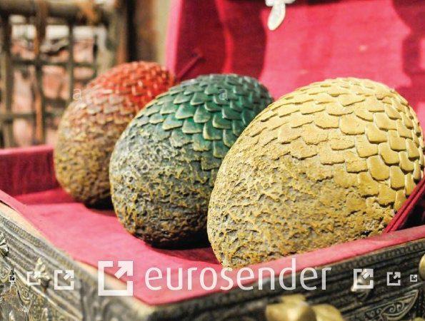 Ship dragon eggs