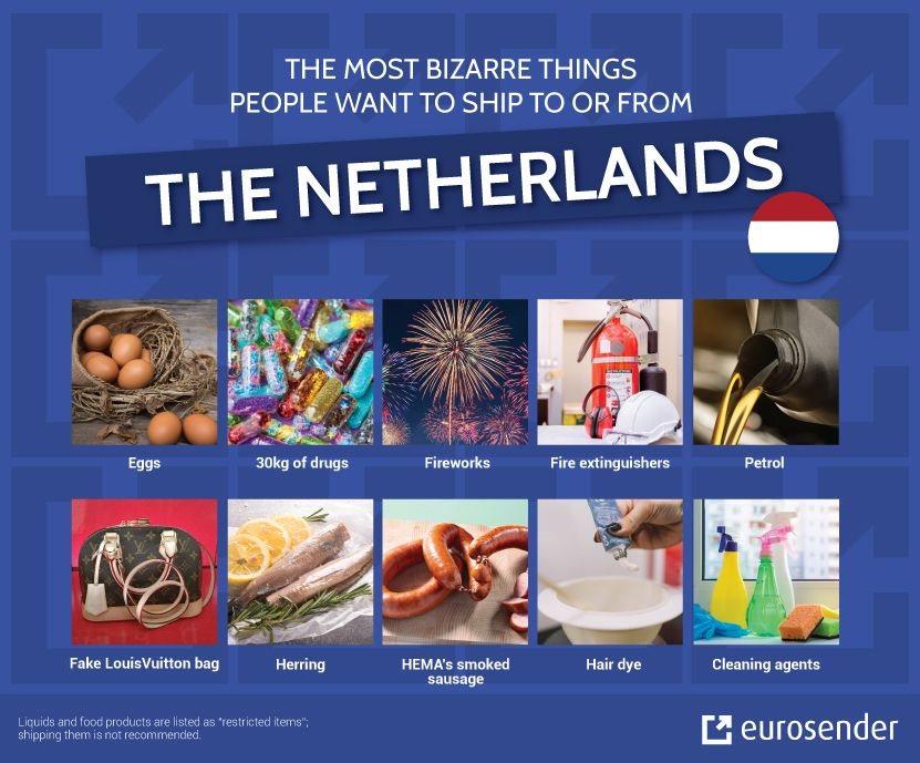 bizarre shipments Netherlands
