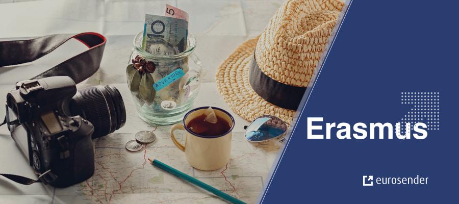 How much money it costs to go on Erasmus