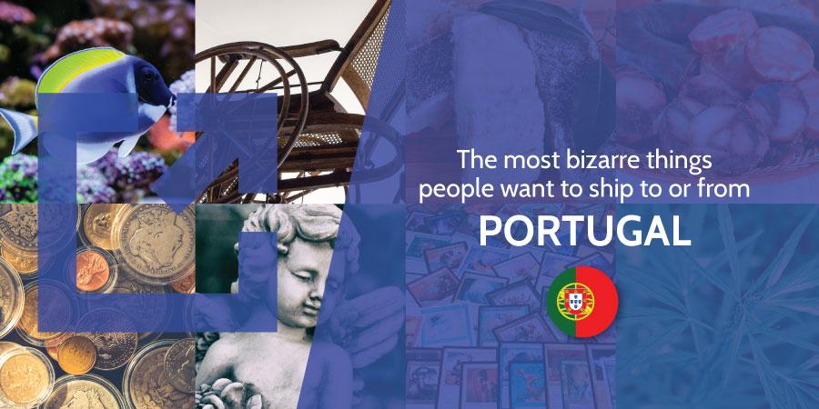 Bizarre shipments Portugal Eurosender