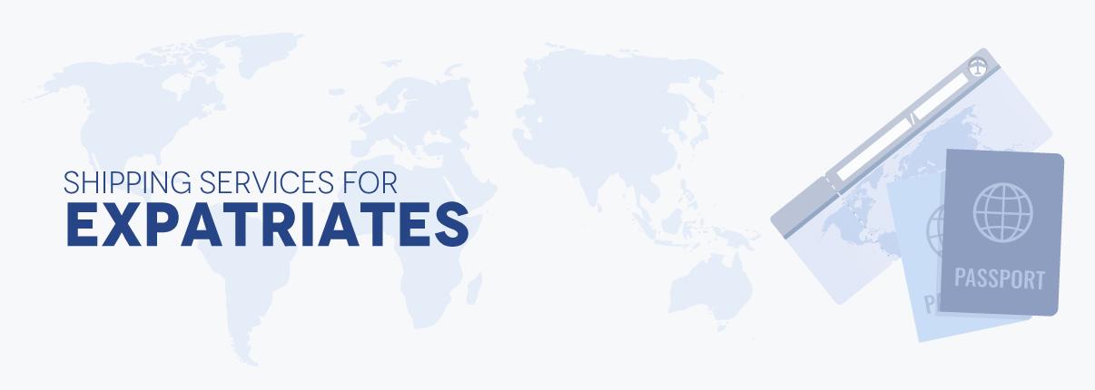 Shipping services for expatriates | Eurosender com