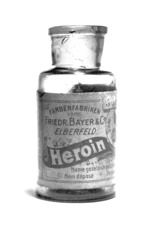 ship heroin in 1900