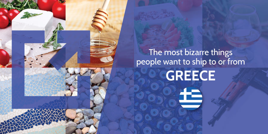 Unusual shipping Greece Eurosender