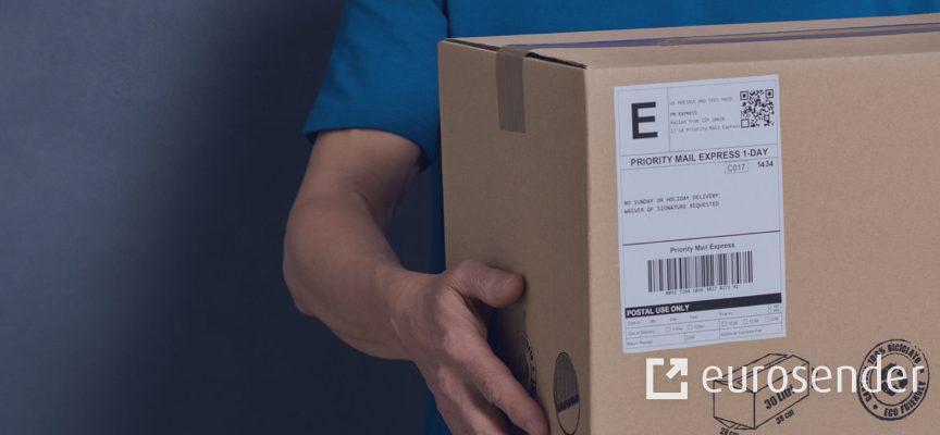pegar etiqueta de envío