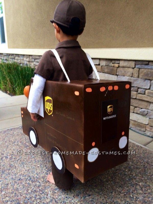 Logistics kid costume halloween
