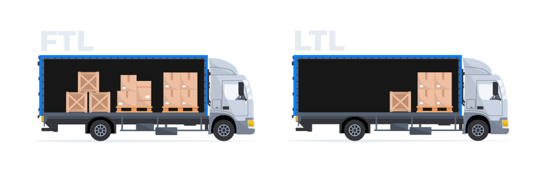 Difference between LTL and FTL freight