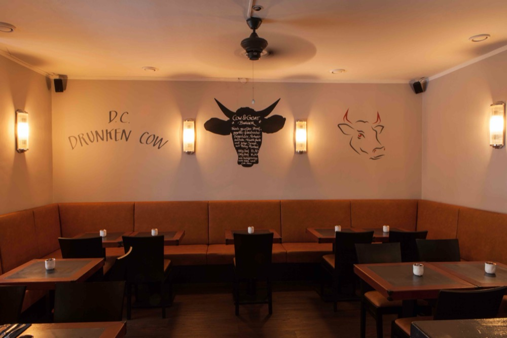 Restaurant Drunken Cow Bar & Grill - Top Location für bis zu 50 Personen in München