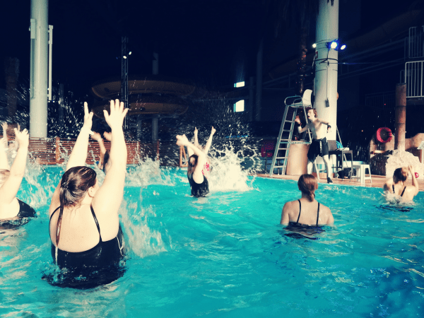 aqua zumba flamingo spa