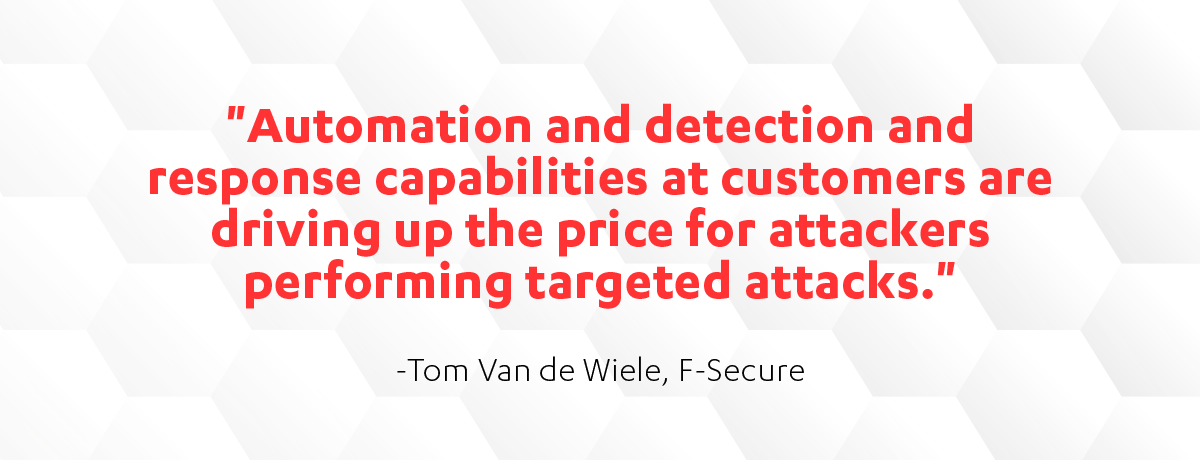 Tom Van de Wiele quote on Cyber Security Sauna