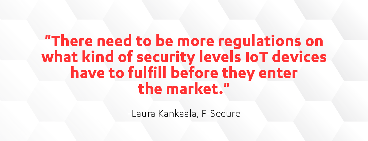 Laura Kankaala quote on Cyber Security Sauna