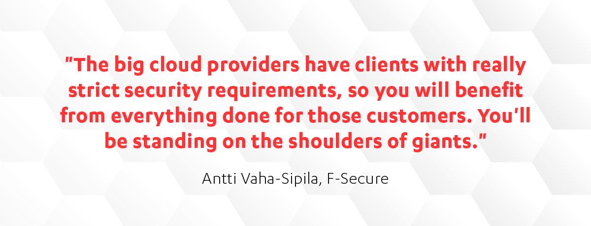 Antti Vaha-Sipila on cloud security