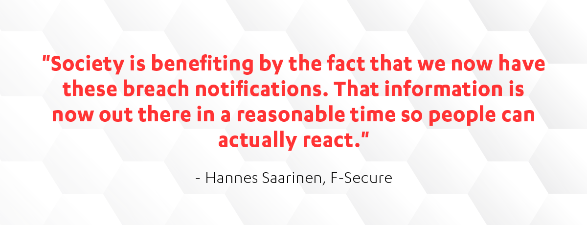 F-Secure's Hannes Saarinen on GDPR