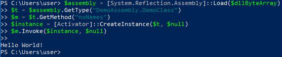 5 load assemblies byte array