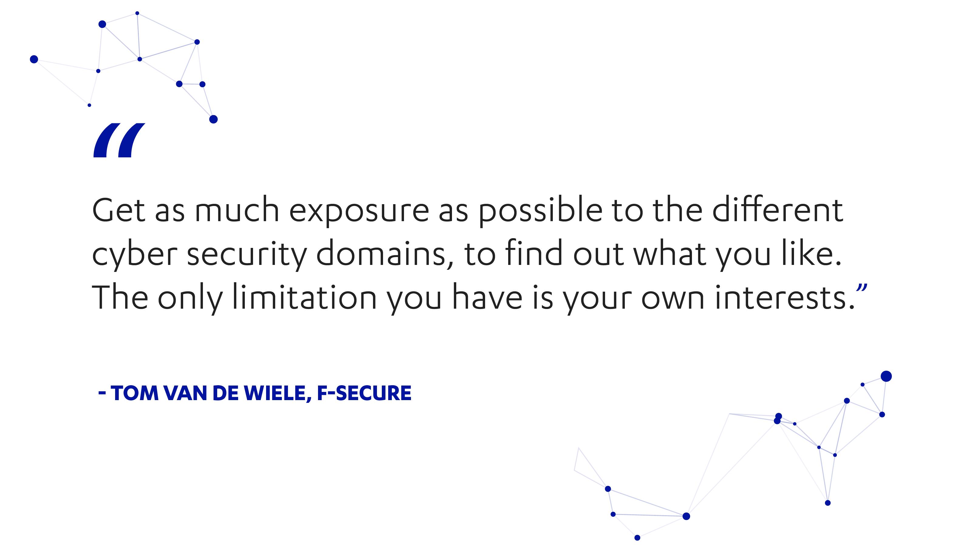 Tom Van de Wiele on episode 33 of Cyber Security Sauna