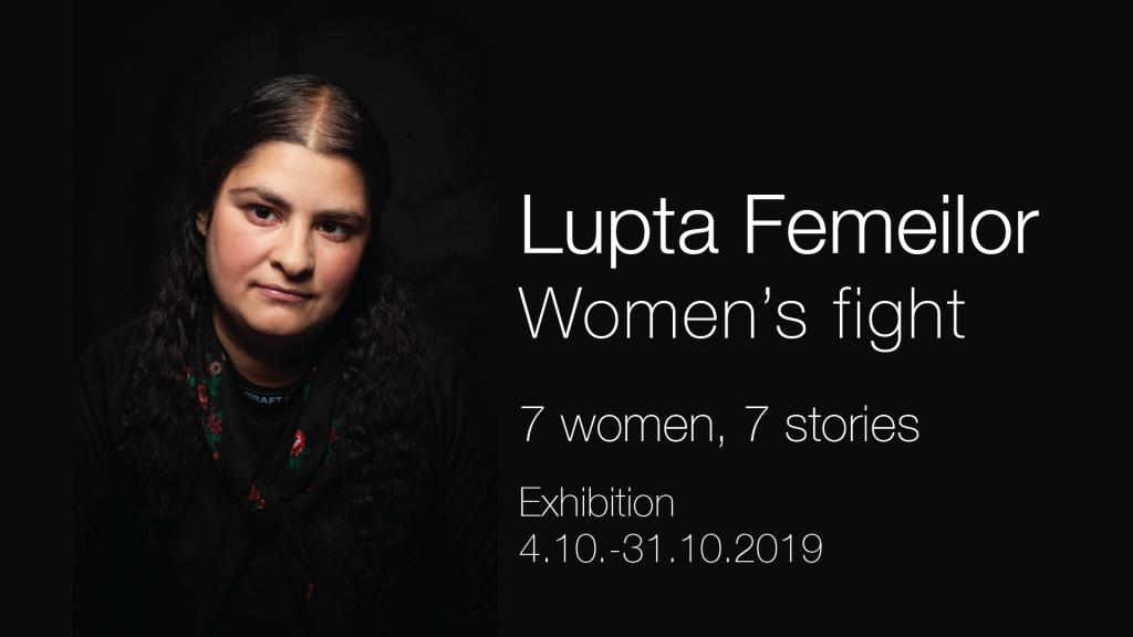 Lupta Femeilor -näyttely antaa äänen Itä-Euroopan romaninaisille.