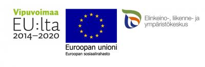 ESR-hankkeen logot yhdessä