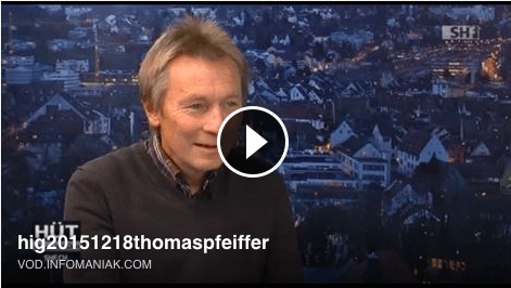Autor Thomas Pfeiffer im TV