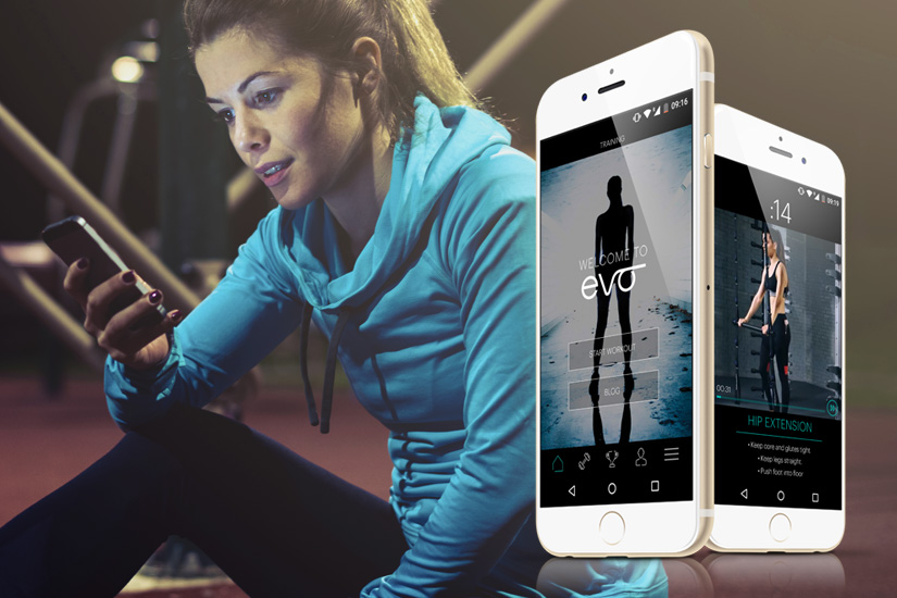 EVOmove Workout App – The Club Is In Your Hands