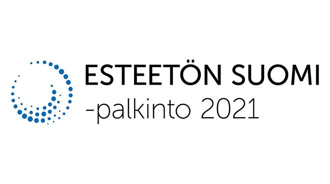 Esteetön Suomi -palkinto 2021