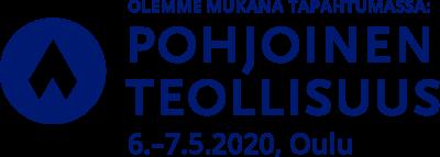 Pohjoinen teollisuus mukana logo