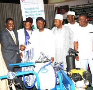 """FrieslandCampina WAMCO, the biggest investor in local milk production in Nigeria"" – Honourable Minister for Agriculture"