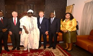 Vice President Yemi Osinbajo Receives Royal FrieslandCampina CEO, Hein Schumacher