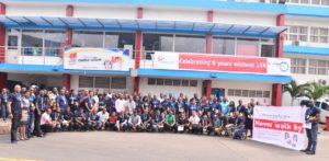 FrieslandCampina WAMCO celebrates 6 years without Lost Time Accident
