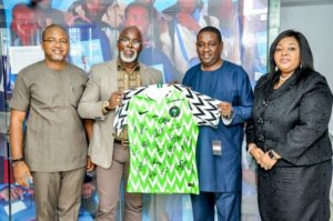 Nigerian Football Federation (NFF) pays courtesy visit  to FrieslandCampina WAMCO