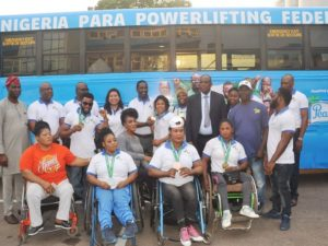Peak Milk Donates Wheelchair Accessible Bus to Nigeria Para-powerlifting Federation
