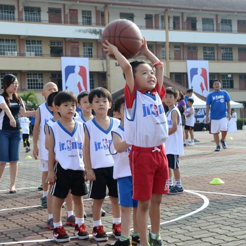 НБА и FrieslandCampina добиваются успеха для баскетбола в Юго-Восточной Азии