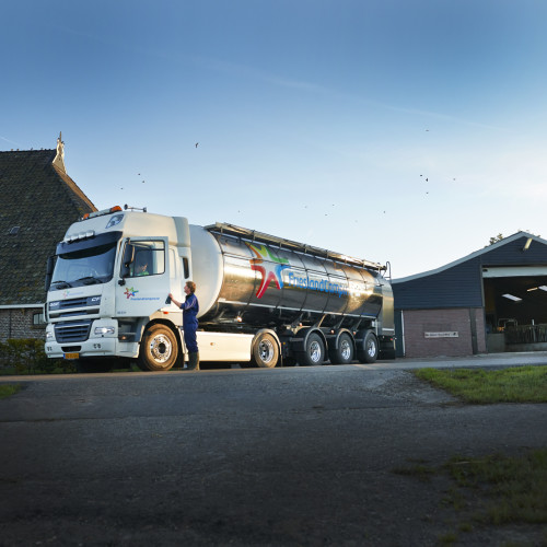 Монитоинг качества молока во время транспортировки с фермы