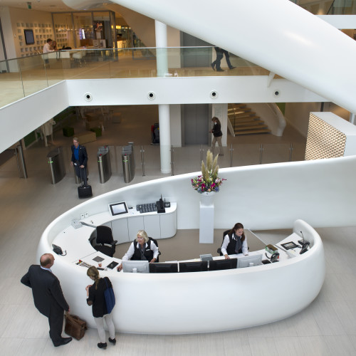 reception Innovation centre Wageningen