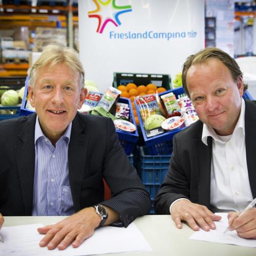 Партнёрство FrieslandCampina с Ассоциацией Голландских Пищевых Банков