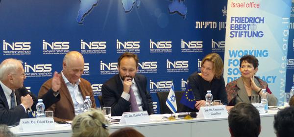 Stärkung der deutsch-israelischen Beziehungen