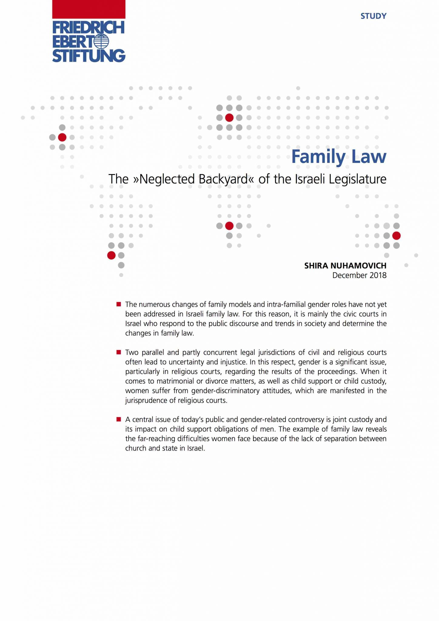 Family Law – The »Neglected Backyard« of the Israeli